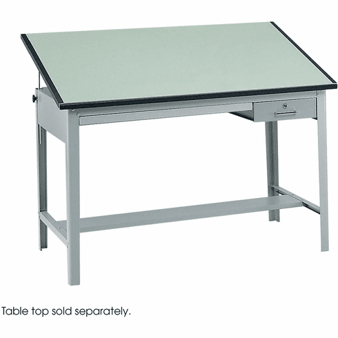 Precision Drafting Table Base Gray [3962GR]