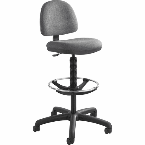 Precision Extended-Height Chair Footring Gray [3401DG]