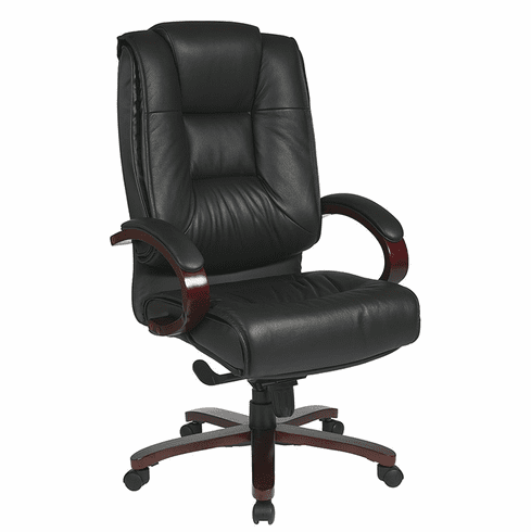 Pro Line II Deluxe Contoured Executive Leather Chair [8500]