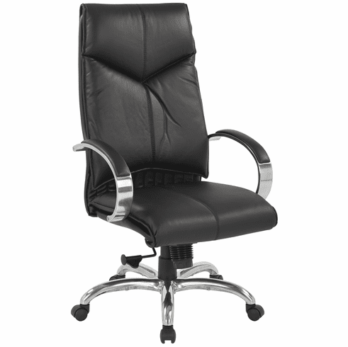 Office Star Deluxe Executive Leather Office Chair 8200