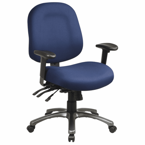 Pro-Line II™ Mid Back Ergonomic Computer Chair [8512]