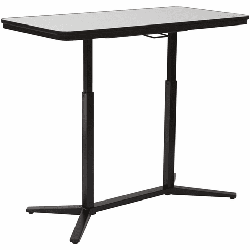 Pro-Line II™ Pneumatic Height Adjustable Table Black Base [PHT70523]