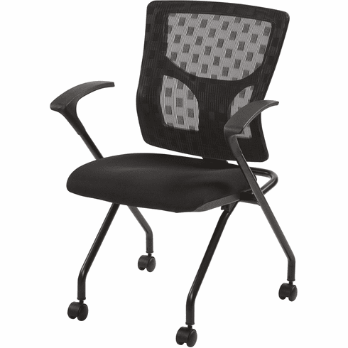 Pro-Line II™ ProGrid® Checkered Mesh Back Folding Chair Set of 2 [84230-30]