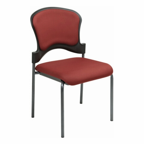 Pro Line II Upholstered Armless Stacking Chair [82720]