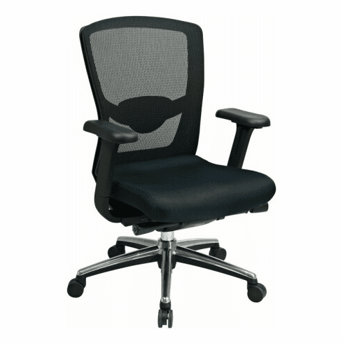 Pro Line ProGrid™ High Back Black Mesh Office Chair [511343]