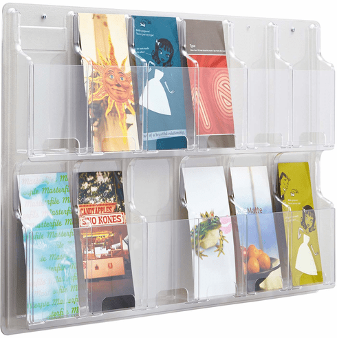 Reveal™ Literature Organizer Display 12 Pamphlet [5604CL]