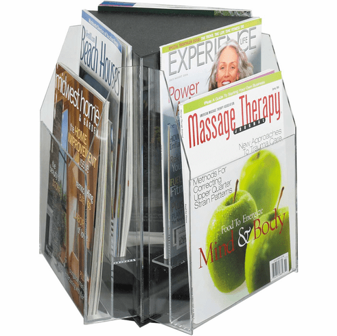 Reveal™ Tabletop Display 6 Magazine [5698CL]