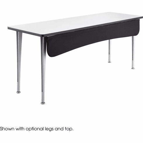 """Rumba™ Modesty Panel for 72""""W Table Black [2085BL]"""