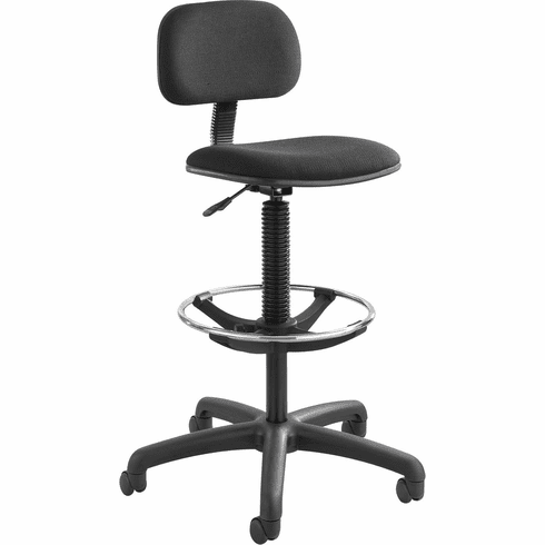 Safco® Economy Extended-Height Chair Black [3390BL]
