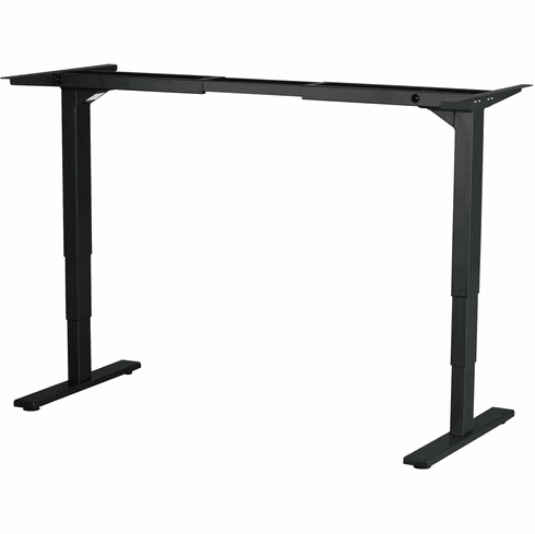 Safco Electric Height-Adjustable Table Base Black [1909BL]