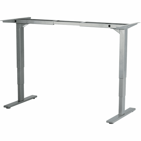 Safco Electric Height-Adjustable Table Base Gray [1909GR]