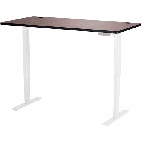 "Safco Electric Height-Adjustable Table Top 60"" x 30"" Cherry [1892CY]"