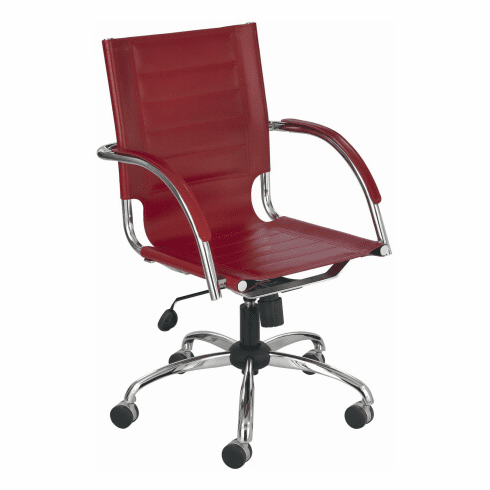 Safco Flaunt Contemporary Leather Chair [3456]