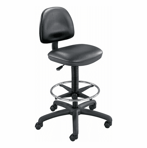 Safco Precision Vinyl Drafting Chair [3406BL]