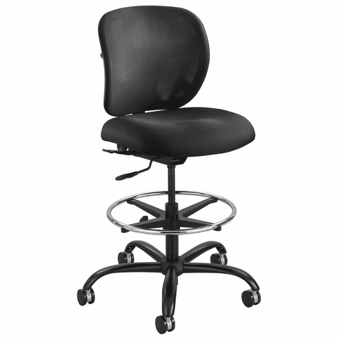 Safco Vue Big And Tall Drafting Chair Holds 350 Lbs 3394