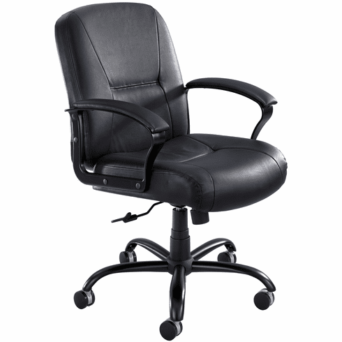 Serenity™ Big and Tall Leather Office Chair [3501BL]