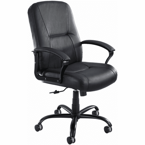 Serenity™ High Back Big and Tall Leather Chair [3500BL]