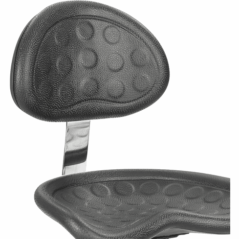 SitStar™ Stool with Back Black [6661BL]