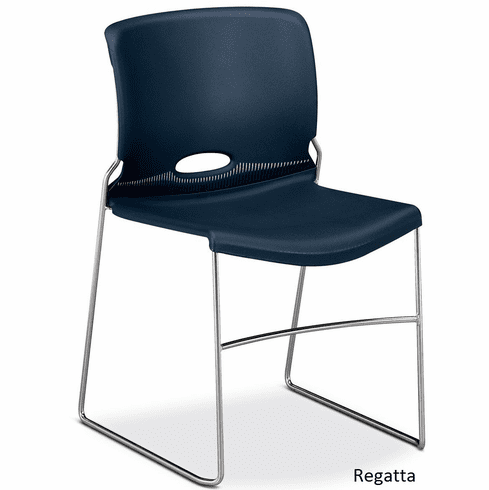 Sled Base Olson Stacker Chairs -4 PACK- [4041]