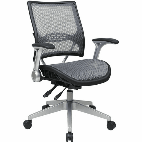 Space Seating Air Grid All Mesh Ergonomic Chair [67-66N69R5]