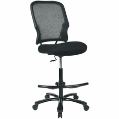 Attirant Space Seating Big And Tall Mesh Drafting Chair [15 37A720D]
