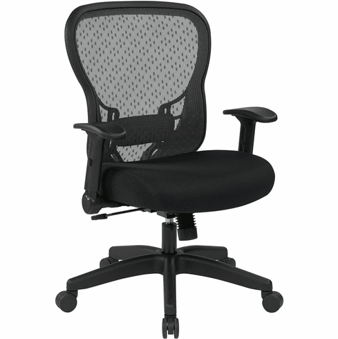 Space Seating® Deluxe R2 SpaceGrid Chair Memory Foam Mesh [529-3R2N1F2]