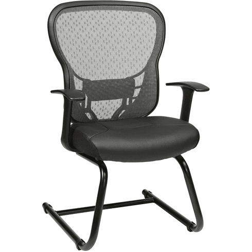 Space Seating® Deluxe R2 SpaceGrid Visitors Chair [529-E3R2V30]