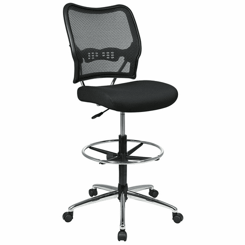 Space Seating Drafting Stool Counter Height Mesh Back [13-37P500D]