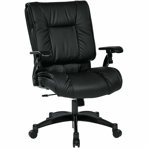Space Seating Eco Leather Conference Room Chair [9333E]