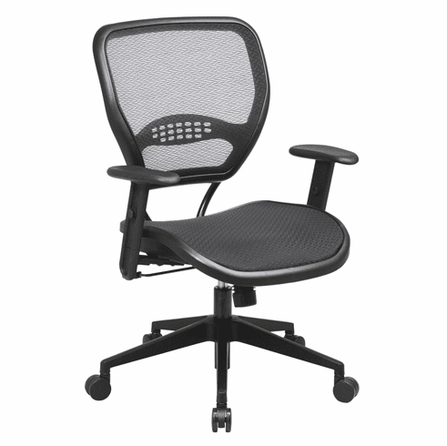 Space Seating Mesh Air Grid Seat & Back Deluxe Task Chair [5560]