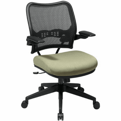 Space Seating Mesh Back Chair with Fabric Seat [13-7N1P3]