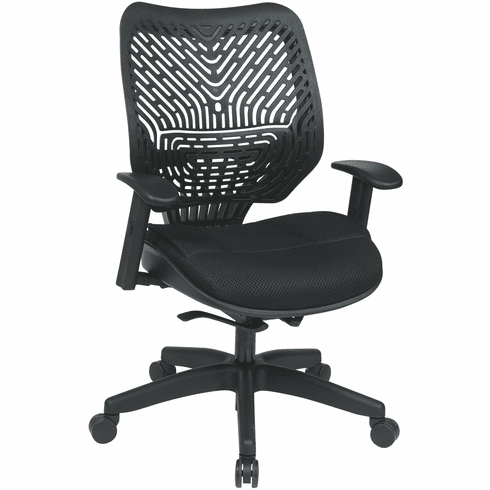 Space Seating® SpaceFlex® Raven Mesh Managers Chair [86-M33BN2W]