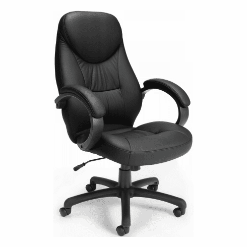 Stimulus High Back Faux Leather Executive Chair [522-LX]