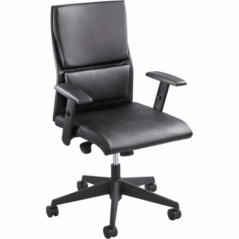 Tuvi™ Mid Back Task Chair Black [5071BL]