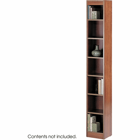 "Veneer Baby Bookcase 7 Shelf 12""W Cherry [1514CYC]"