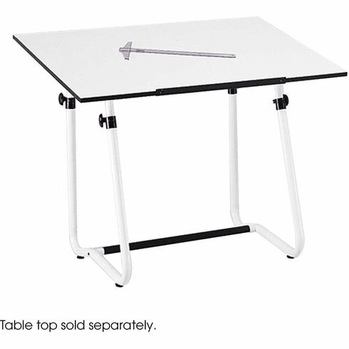 Vista Drawing Table Base White [3960]