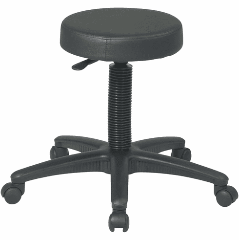Work Smart™ Backless Drafting Stool Nylon Base [ST215]