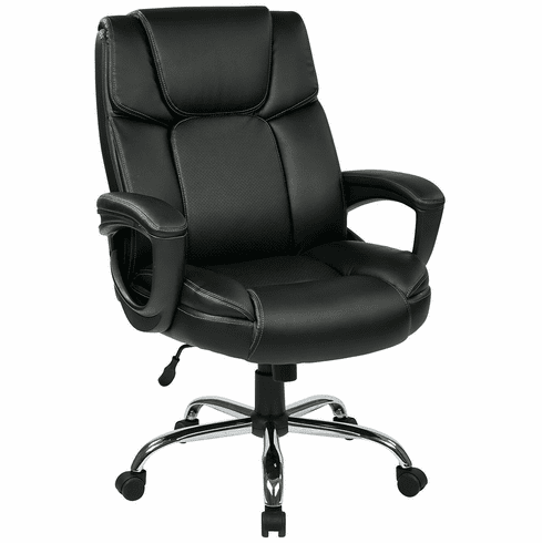 Work Smart™ Big Mans Big and Tall Executive Chair [EC1283C-EC3]