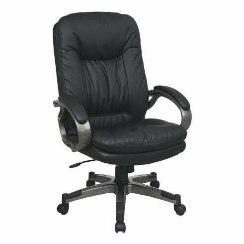 Work Smart Eco-Leather Executive Office Chair [ECH83507]