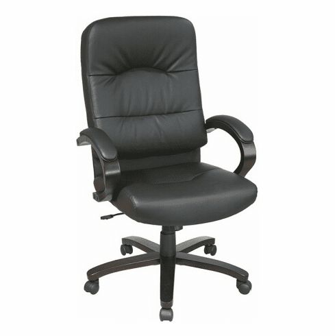 Work Smart Eco Leather High Back Office Chair [WD5380]