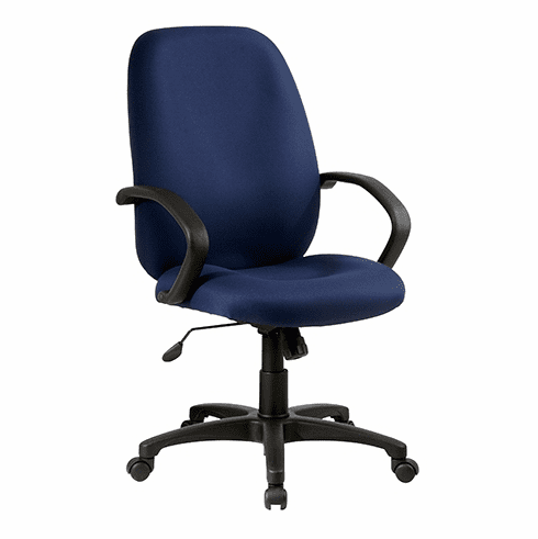 Work Smart Executive Fabric Office Chair [EX2654]