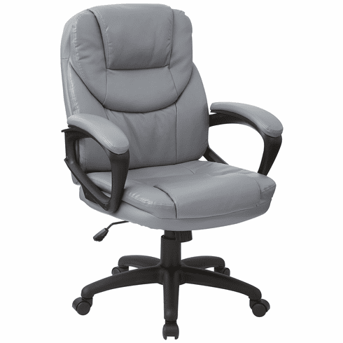 Work Smart™ Faux Leather Managers Chair [FL660-U42]