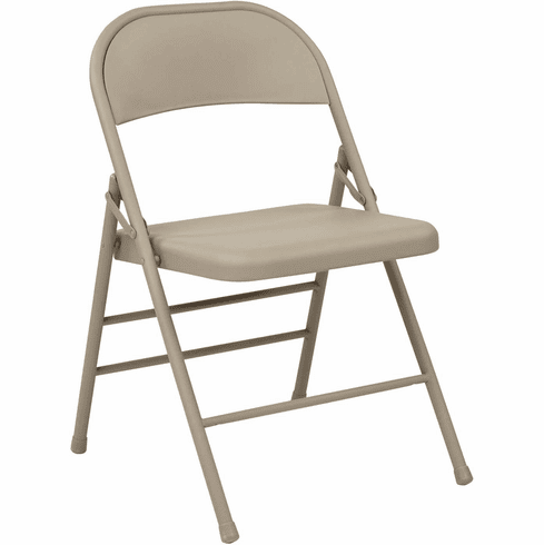 Work Smart™ Folding Chair Metal Seat and Back [FF-22124M]
