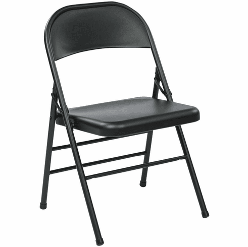Work Smart™ Folding Chair Metal Seat and Back [FF-22324M]