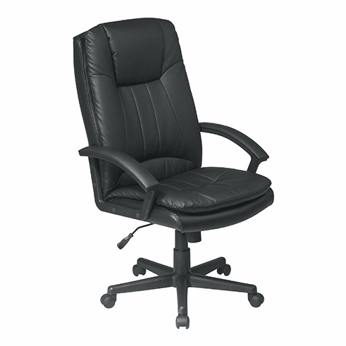 Work Smart High Back Eco Leather Office Chair [EC22070]