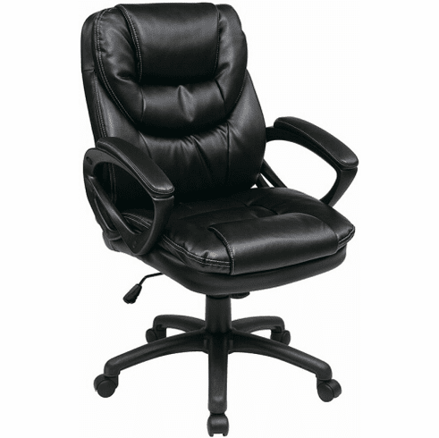 Work Smart High Back Faux Leather Chair [FL660]