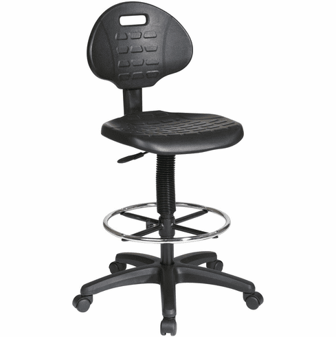 Work Smart™ Intermediate Drafting Chair Adjustable Footrest [KH540]