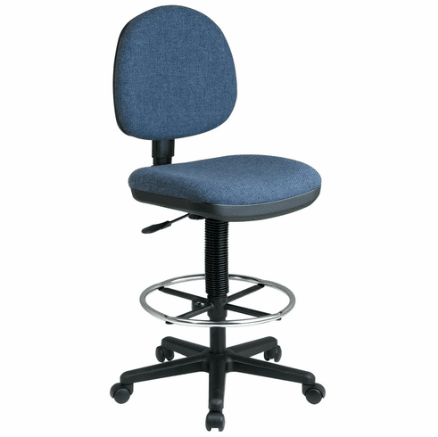 Work Smart Lumbar Support Drafting Chair [DC640]