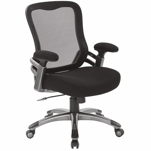 Work Smart™ Mesh Back Manager's Chair [EMH6918T-3]