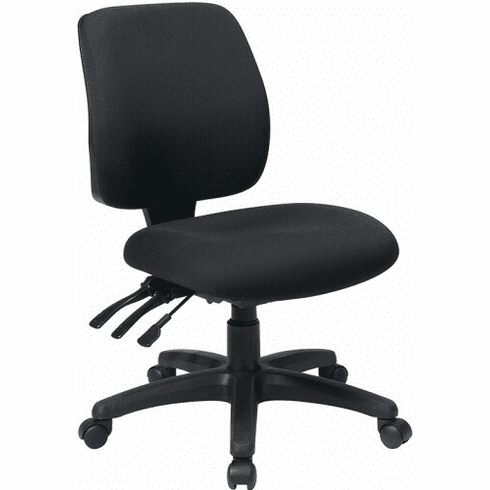 Work Smart™ Mid Back Adjustable Office Chair [33320]